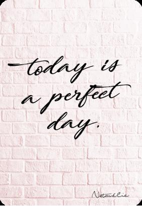 Un jour parfait